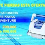 Robot limpiafondos Kayak Adventure