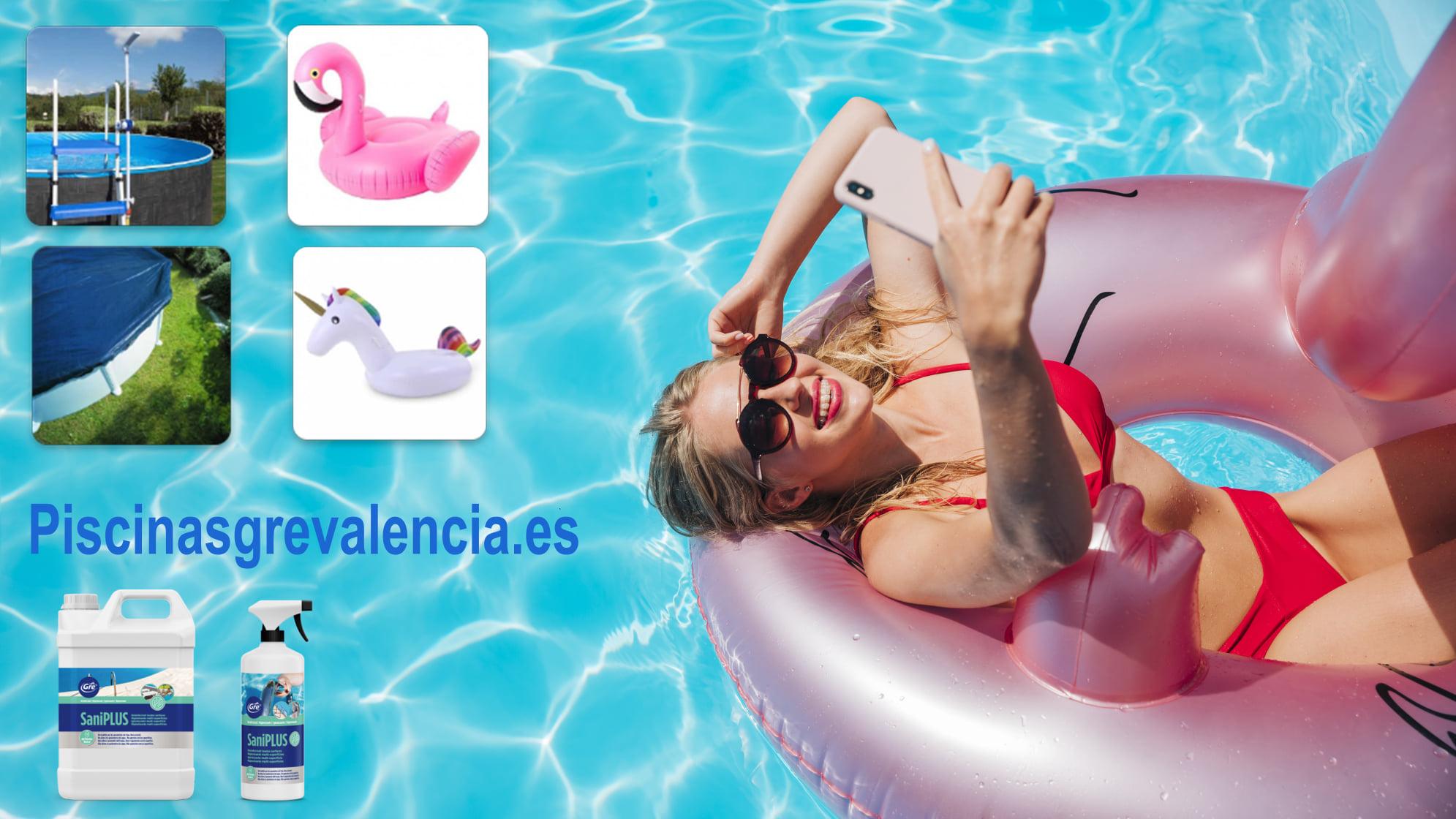 Mantenimiento y accesorios de piscinas en Valencia