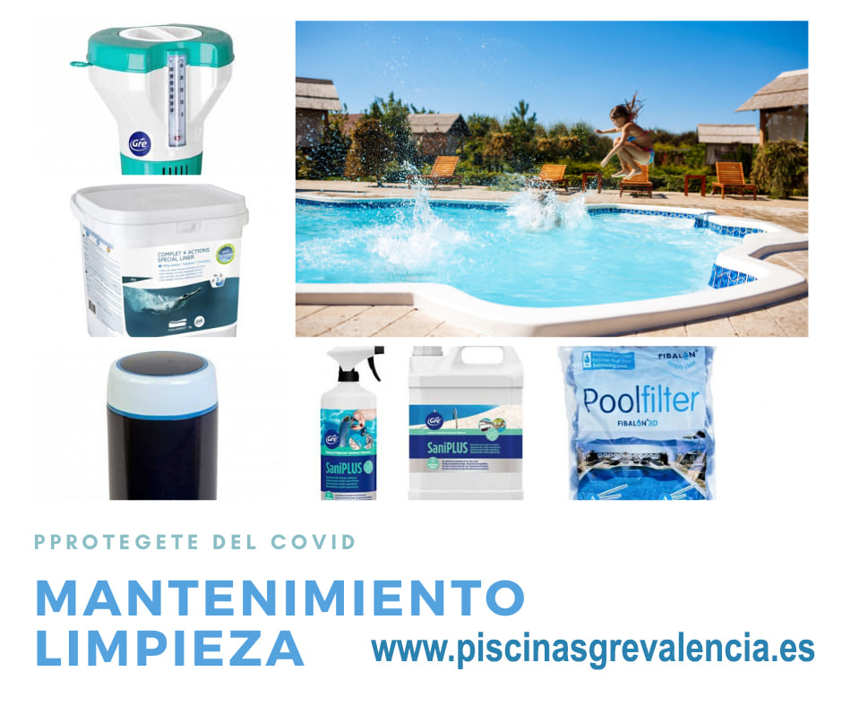 Limpieza y desinfección de piscinas