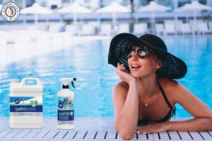 Desinfección y limpieza de piscinas
