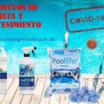 Productos de Limpieza y Mantenimiento para piscinas