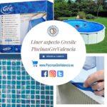 Liner imitación gresite para piscina desmontable Gre