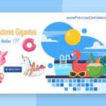 Flotadores Gigantes Piscinas Gre Valencia