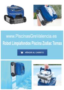ROBOT LIMPIAFONDOS PISCINA ZODIAC TORNAX