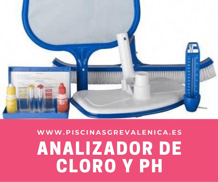 Analizador de cloro y pH Valencia