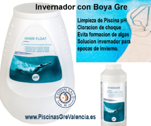 INVERNADOR CON BOYA PARA PISCINAS 1,75 KG GRE 76080