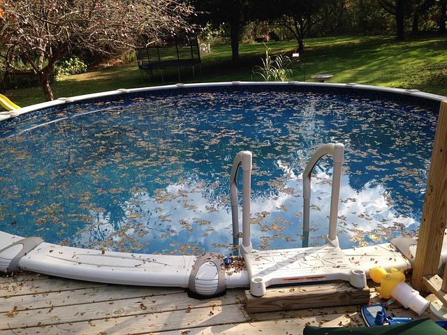 Cómo mantener la piscina en invierno