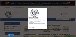 Guía repuestos Profesionales Junkers