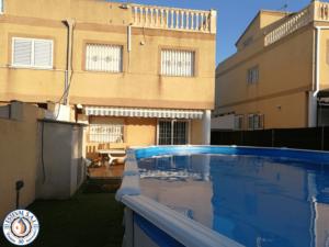 Instalación piscina Gre KITPROV8188 con clorador salino Zodiac Calicanto-min