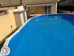 Instalación piscina Gre KITPROV8188 con clorador salino Zodiac-min