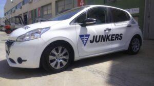 Repuestos y recambios de calderas calentadores Junkers