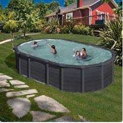 piscina desmontable capri ovalada