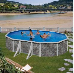 piscina desmontable cerdeña ovalada