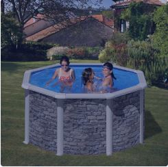 piscina desmontable cerdeña redonda