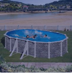 piscina desmontable corcega ovalada