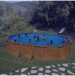 piscina desmontable pacific ovalada
