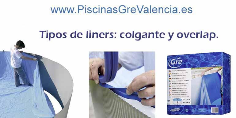 TIPOS DE LINER PARA PISCINAS