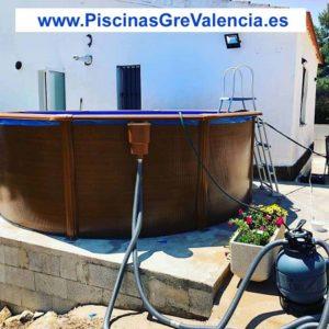 Instalación Piscina desmontable Gre