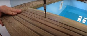 Piscina desmontable de madera Gre Instalación completa