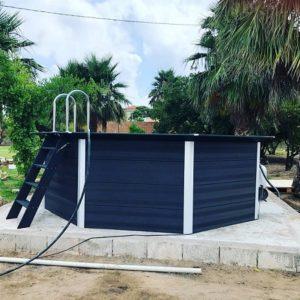 Instalación piscina desmontable Gre KPCOV6650
