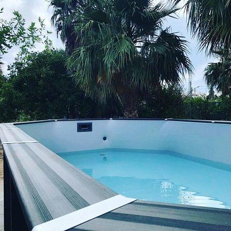 Instalación piscina desmontable en Valencia