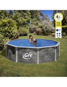 piscinas-desmontable-gre-redondas-serie-corcega