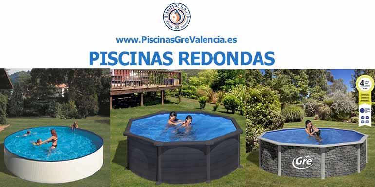 piscinas redondas