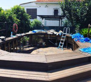 Cambio de piscina desmontable Gre KIT730ECO