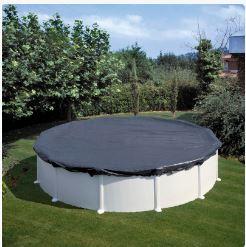 cubiertas piscinas redondas gre