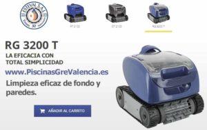 robot limpiafondos rg 3200 t